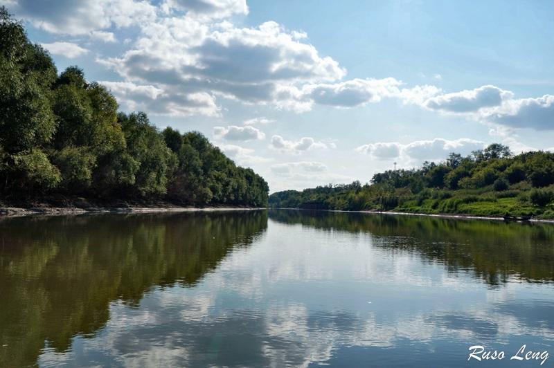 Paseo por el río de Siberia