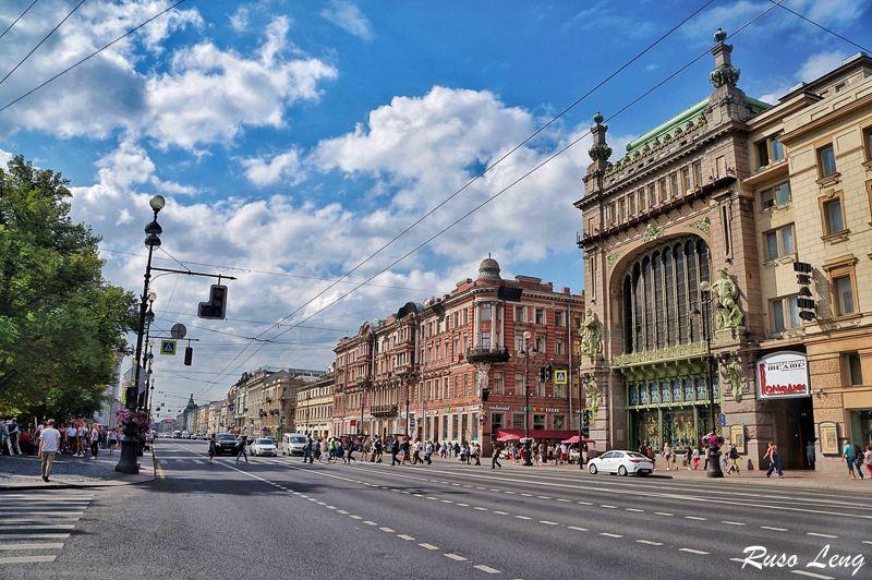 Edificio comercial Eliseyev Emporium